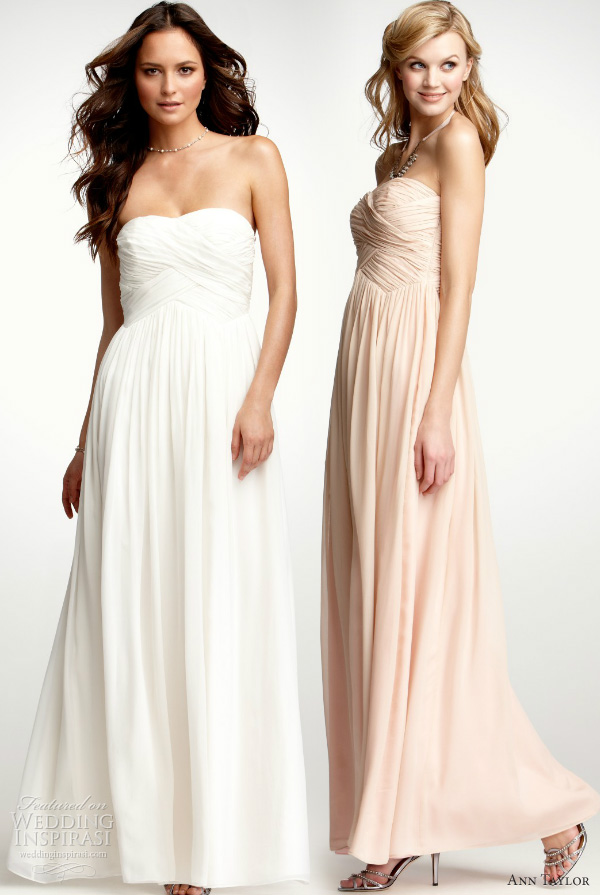 ann taylor wedding dresses 2012