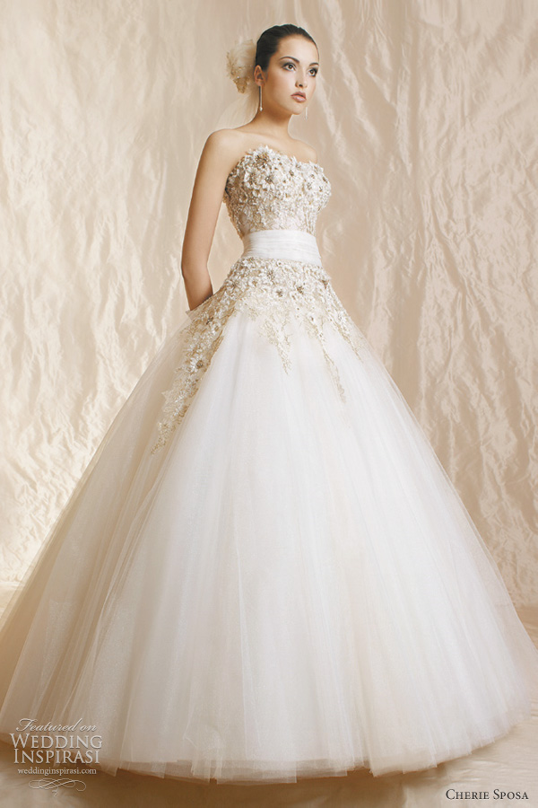 Cherie sposa wedding dresses 2012 wedding inspirasi for Pretty ball gown wedding dresses