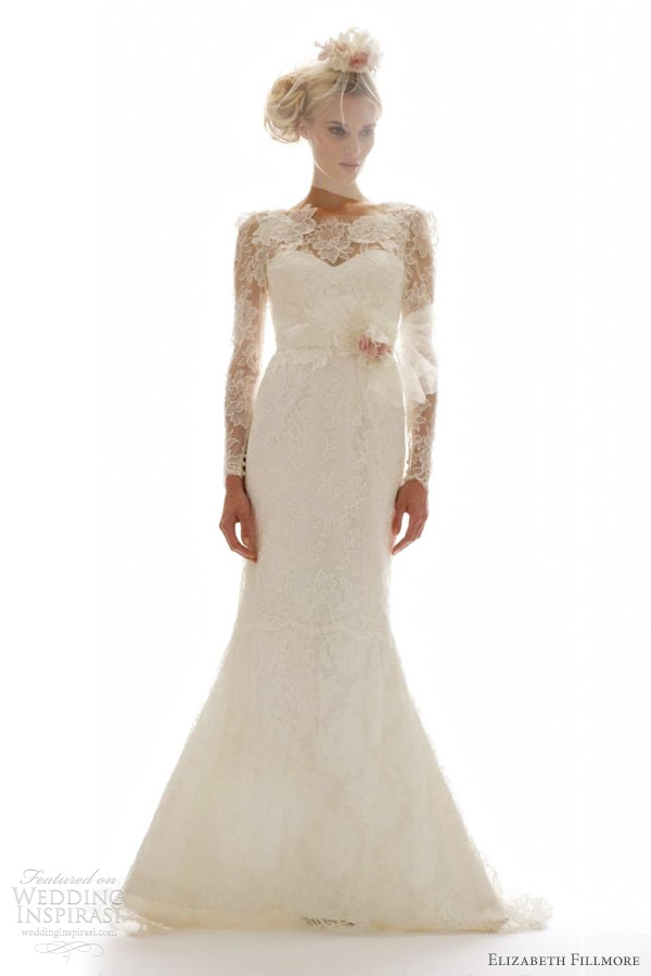 elizabeth fillmore fall 2012 camilla wedding dress