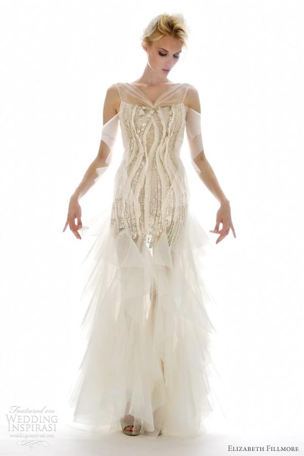 elizabeth fillmore wedding dress fall 2012
