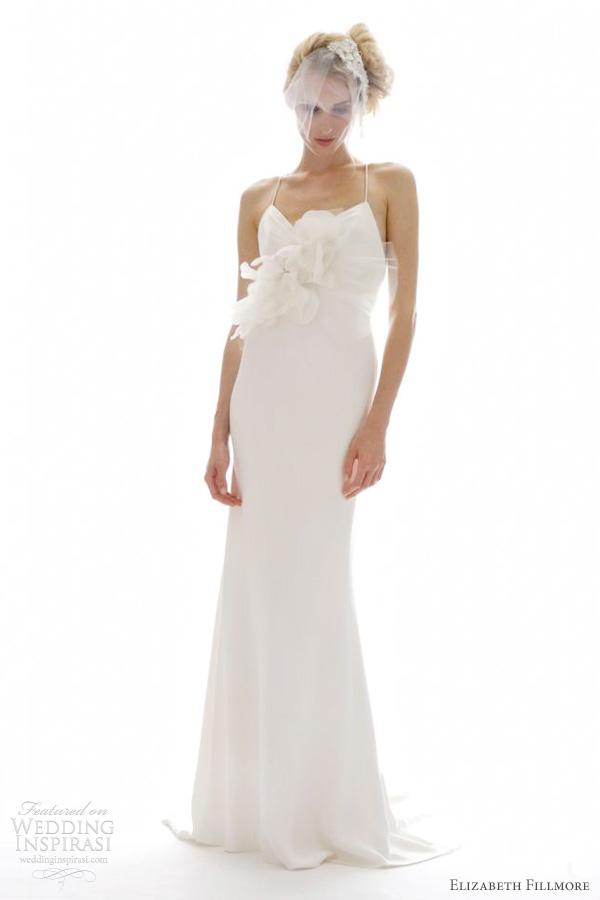 elizabeth fillmore wedding dresses 2012