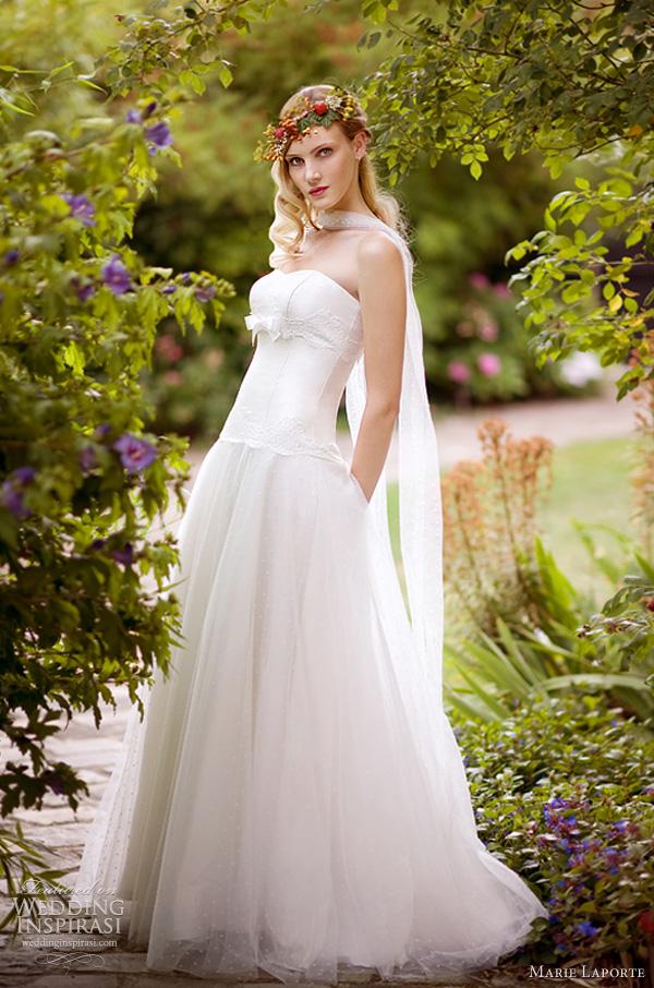 forest wedding dress