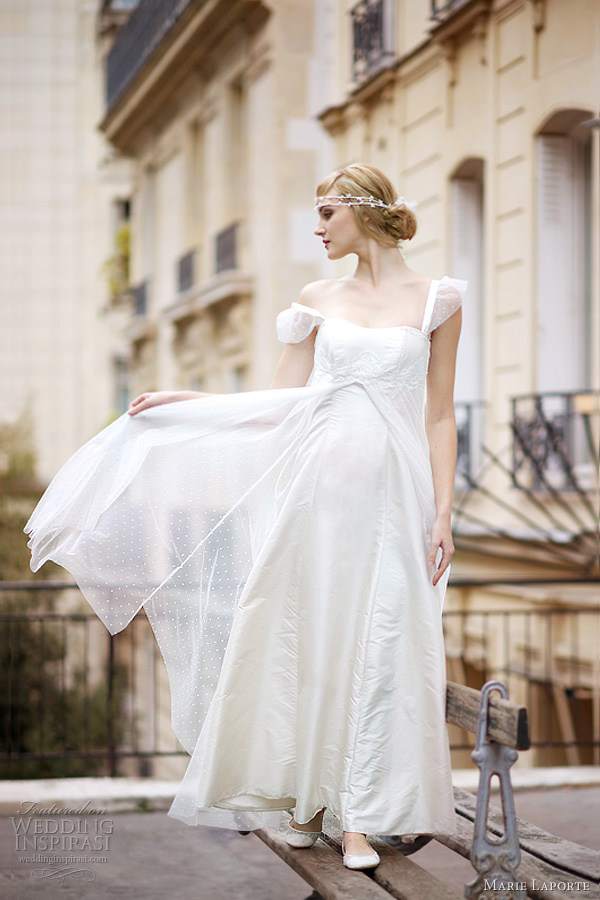marie laporte 2012 ange wedding dress
