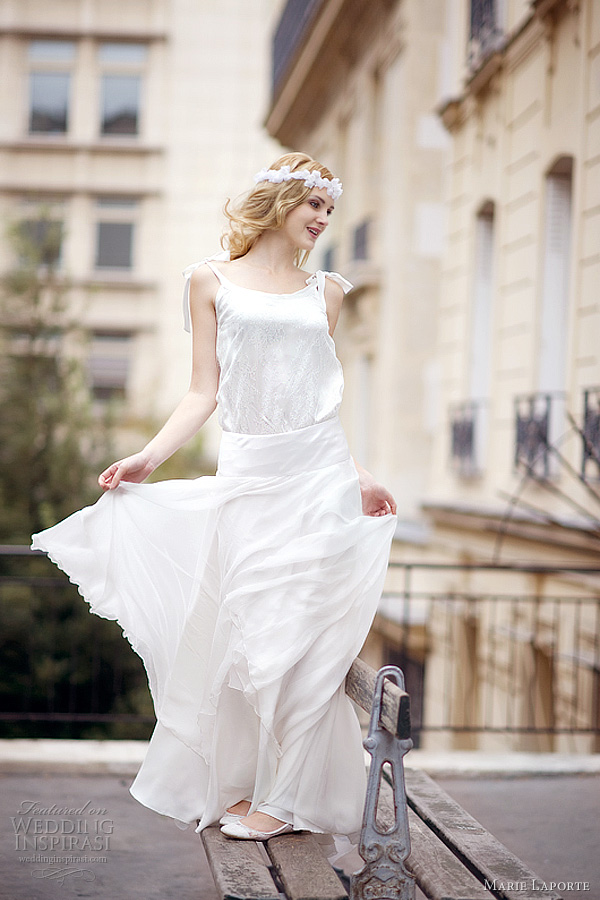 marie laporte 2012 biba wedding dress