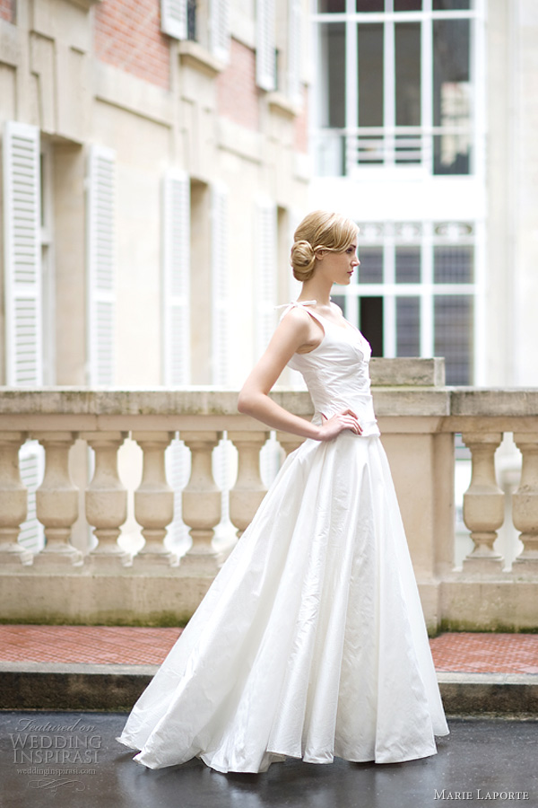 marie laporte grace wedding dress