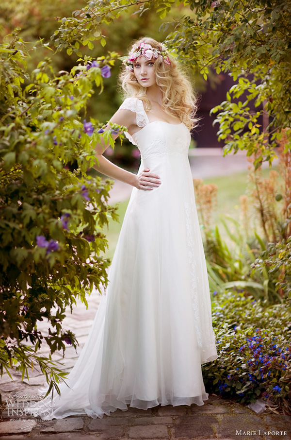 marie laporte santa julia wedding dress 2012