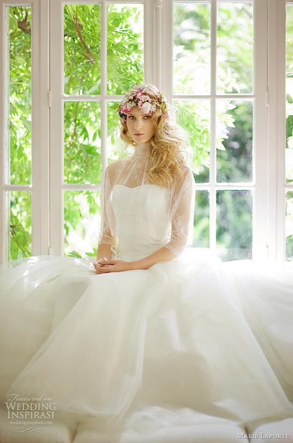 marie laporte wedding dress