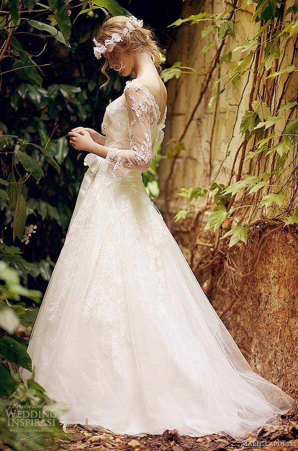 marie laporte wedding dresses 2012