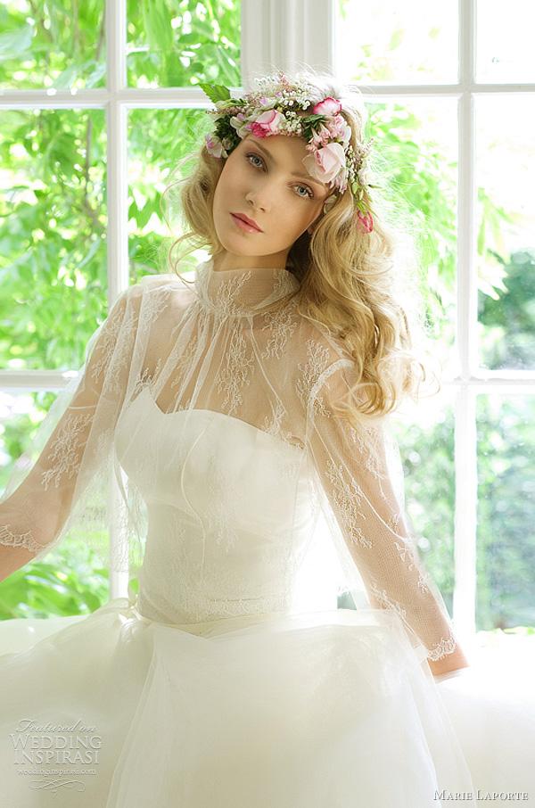 marie laporte wedding gown bastia