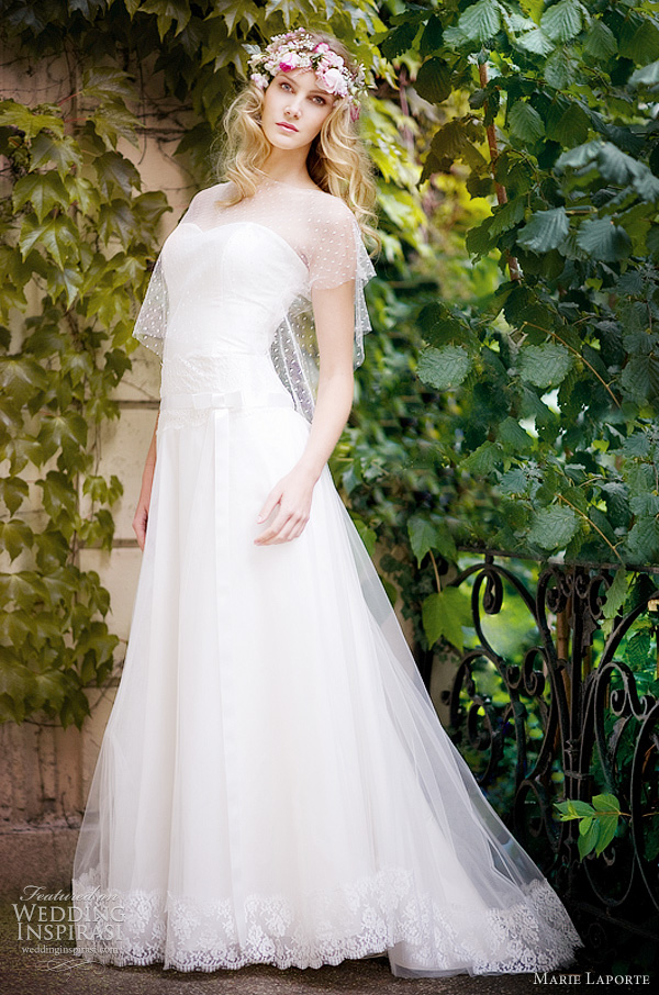 marie laporte wedding gowns 2012