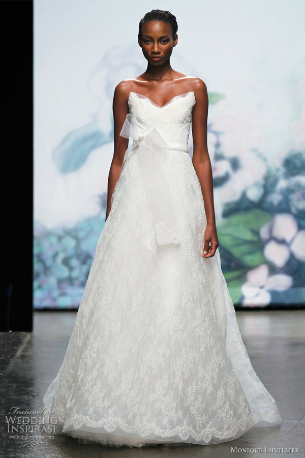 monique lhuillier fall 2012 bridal