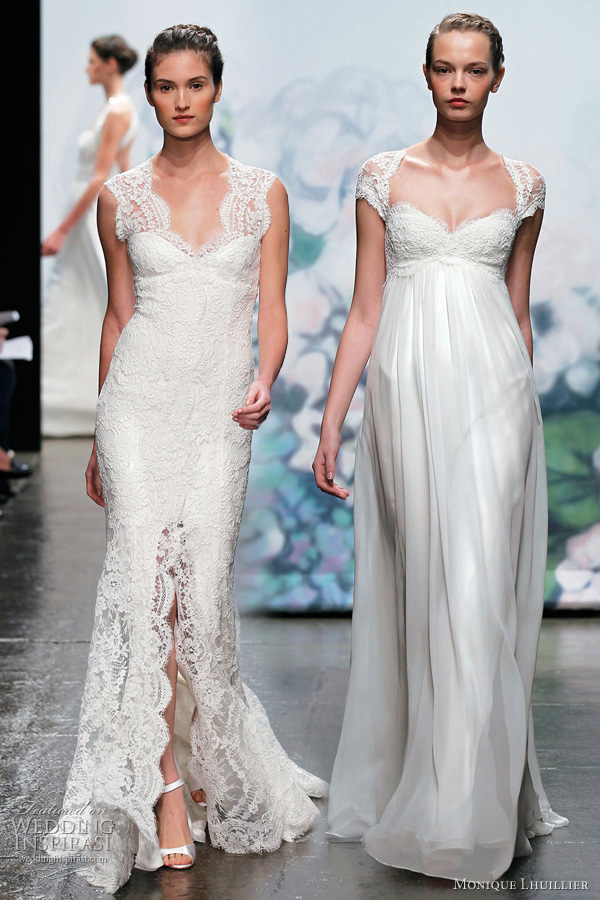 monique lhuillier fall 2012 wedding gowns