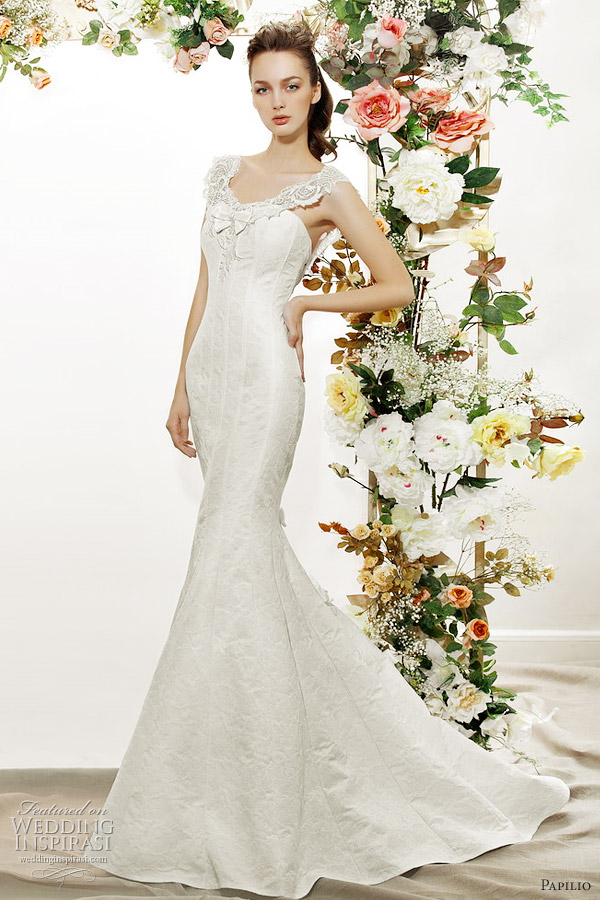 papilio mermaid wedding dress