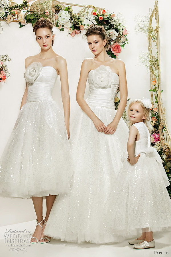 papilio wedding dresses 2012 collection