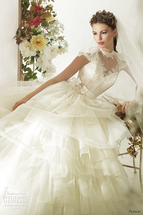 papilio wedding dresses 2012