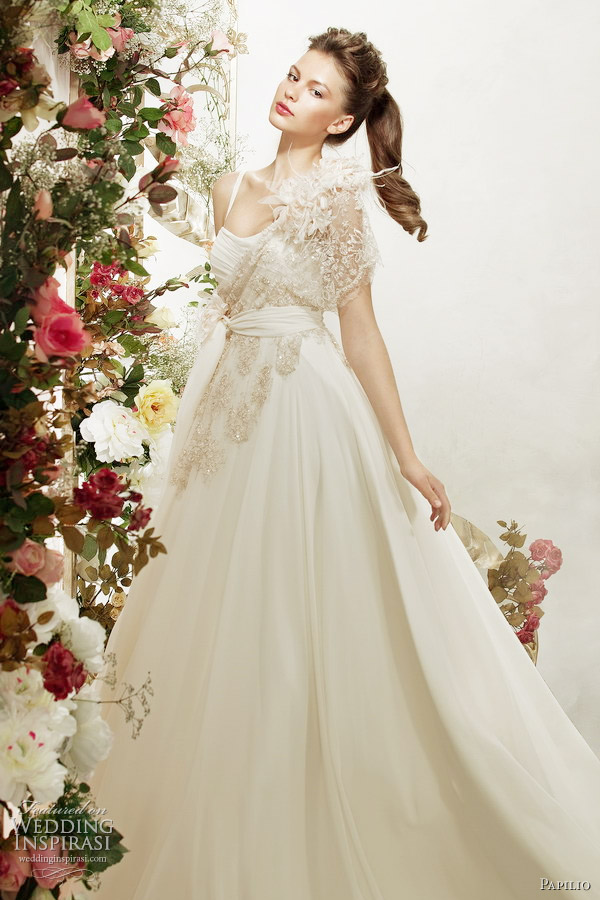 papilio wedding dresses cappuccino