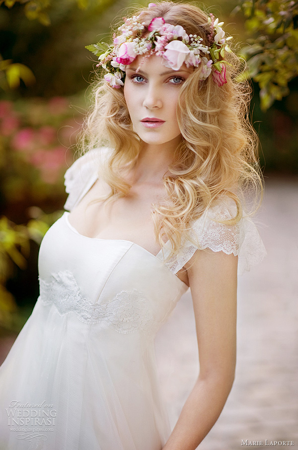romantic cap sleeve wedding dress