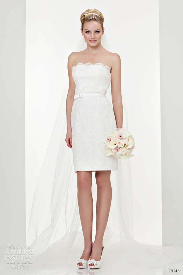 short wedding dresses theia couture