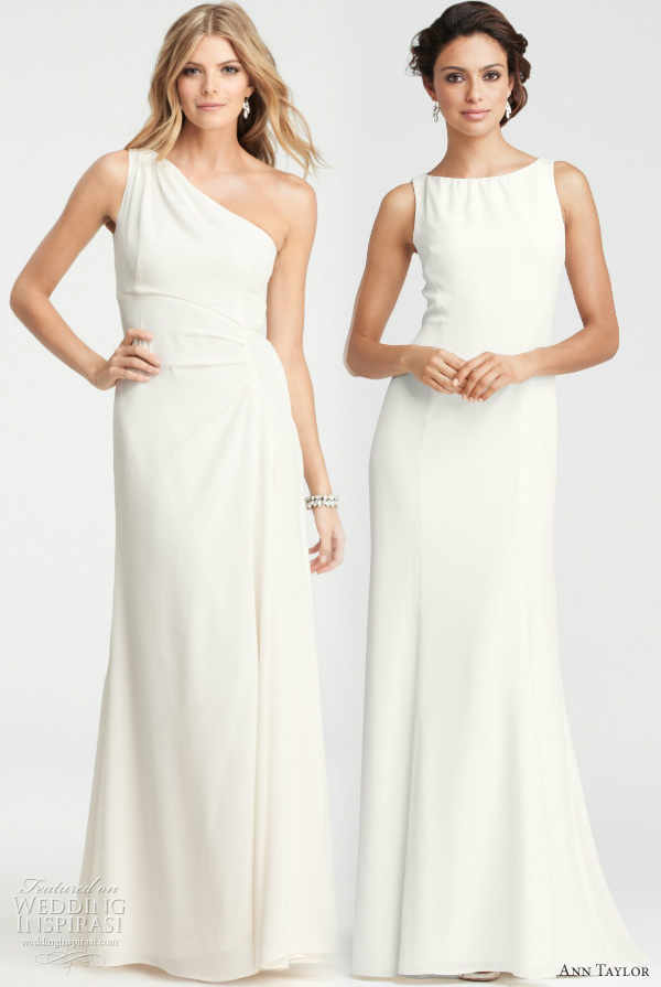 Girls get Hot: Ann Taylor Wedding Dresses