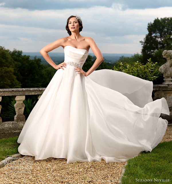 suzanne neville 2012 gracie wedding dress