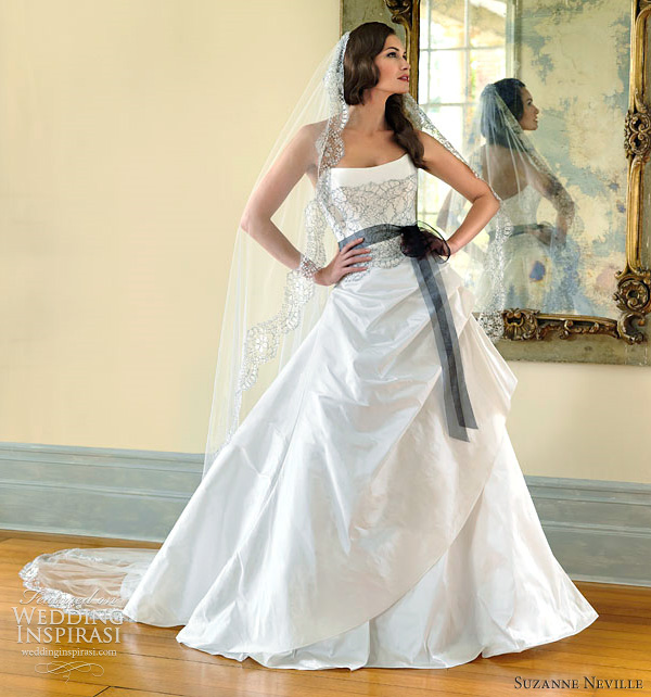 suzanne neville nostalgia wedding dresses 2012 - laverite