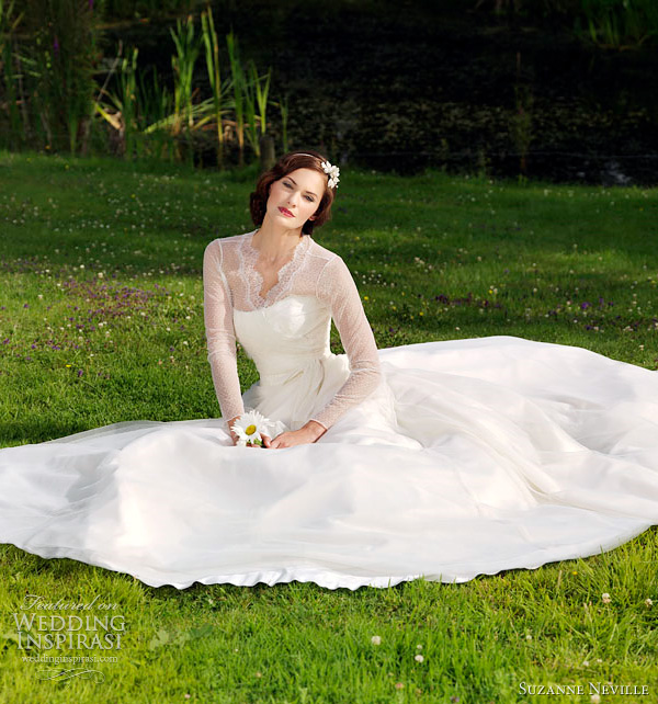 suzanne neville wedding dress 2012 carly