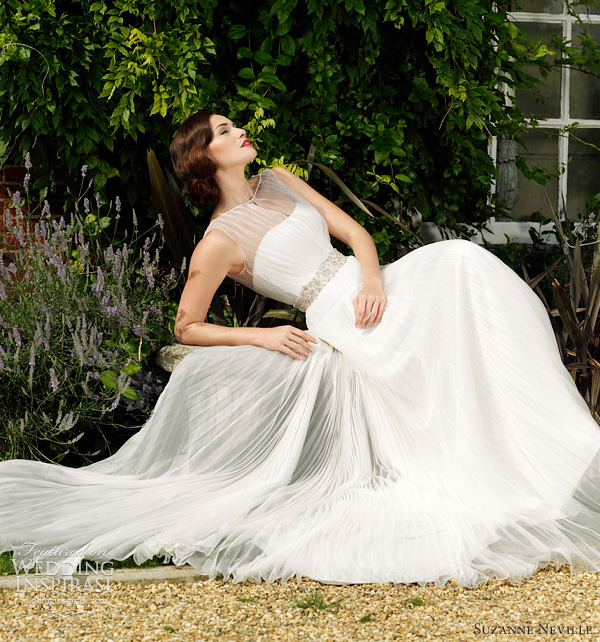 suzanne neville wedding dress 2012 nostalgia - lombard