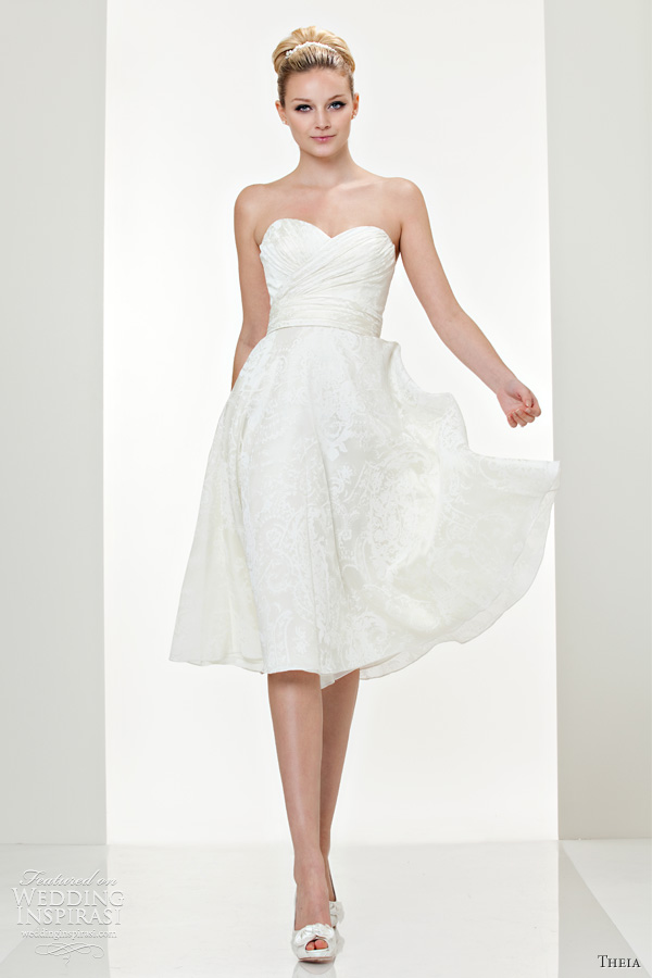 theia short wedding dresses fall 2011