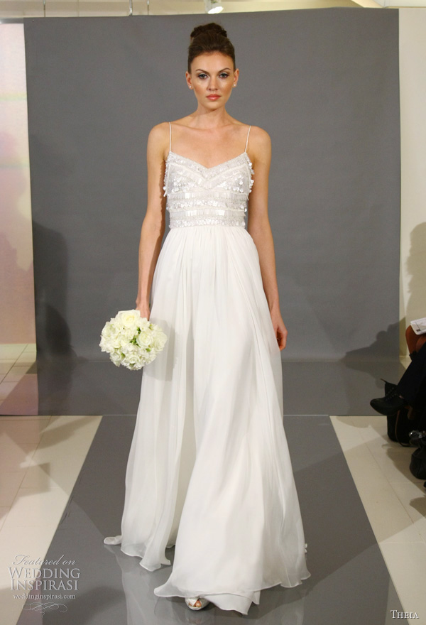 Theia White Collection Fall 2012 Wedding Dresses | Wedding Inspirasi