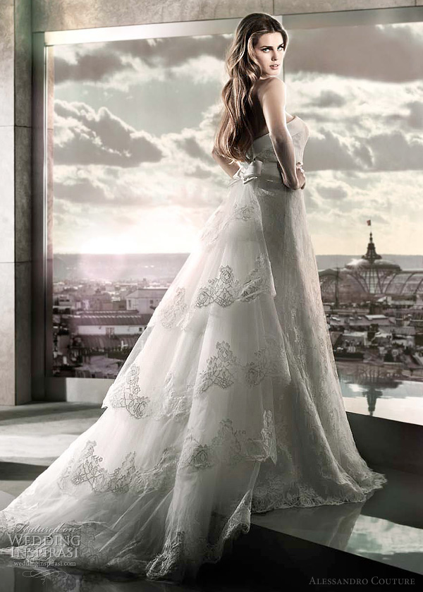 alessandro bridal 2012 - Pantofola di Venere wedding dress