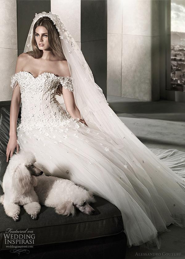 مجموعة كبيرة من  فساتين الزفاف الفرنسيه 2012 _2013 روعة وصور غاية فى الجمال Alessandro-couture-2012-demetra