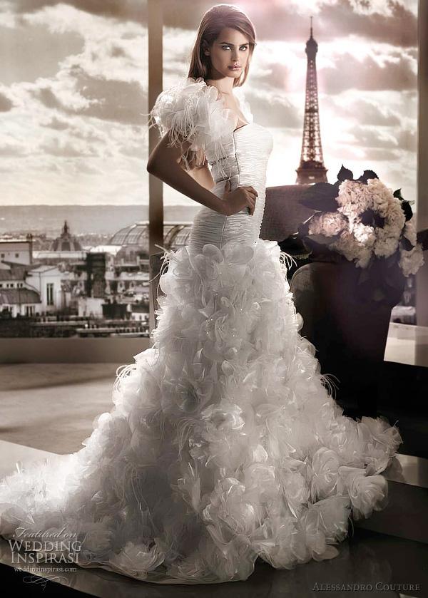 مجموعة كبيرة من  فساتين الزفاف الفرنسيه 2012 _2013 روعة وصور غاية فى الجمال Alessandro-couture-antera