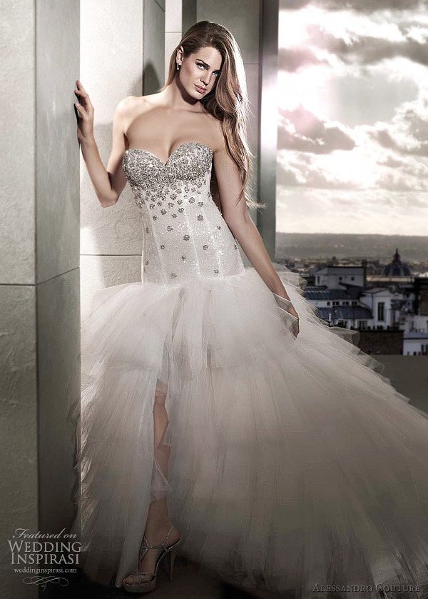 alessandro couture bridal 2012 ORCHIS wedding dress