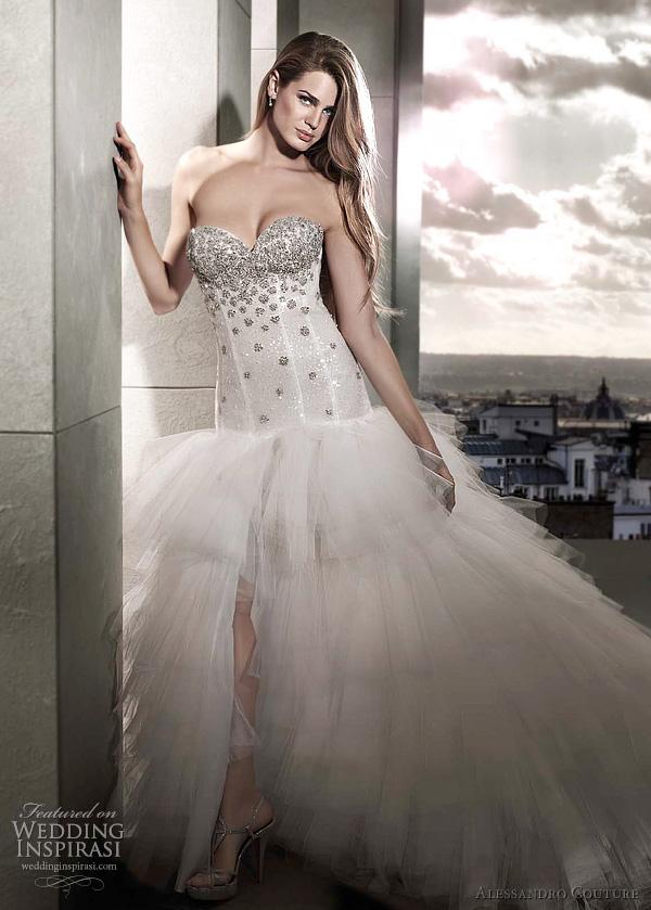 مجموعة كبيرة من  فساتين الزفاف الفرنسيه 2012 _2013 روعة وصور غاية فى الجمال Alessandro-couture-bridal-2012