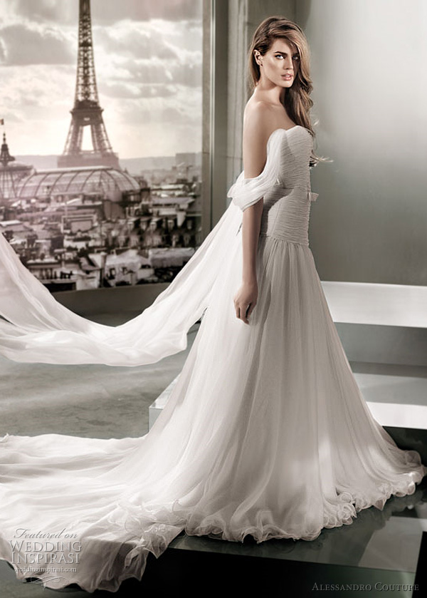 alessandro couture wedding dress 2012 - MICROFILLA