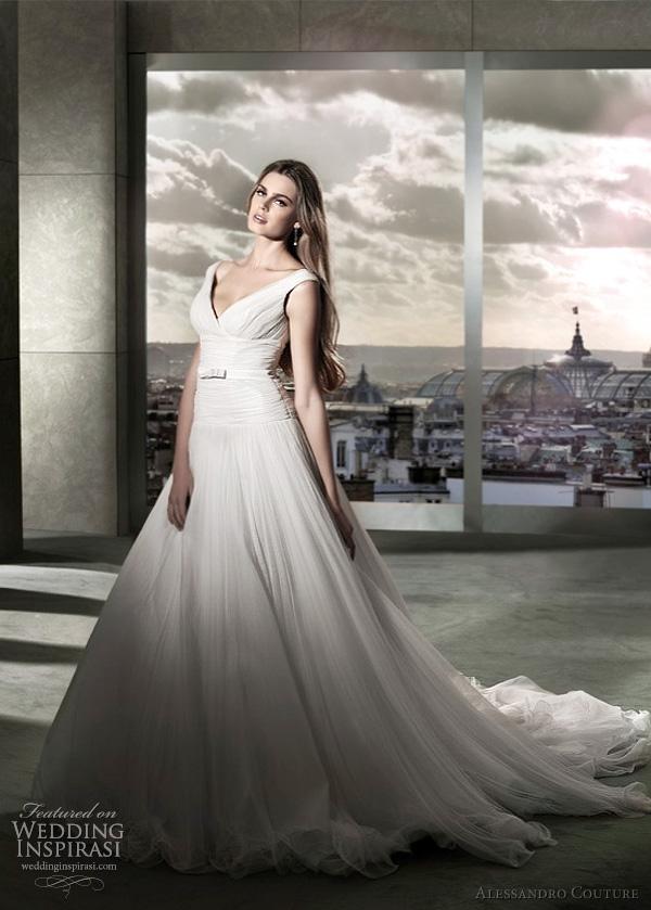 مجموعة كبيرة من  فساتين الزفاف الفرنسيه 2012 _2013 روعة وصور غاية فى الجمال Alessandro-couture-wedding-dresses-2012