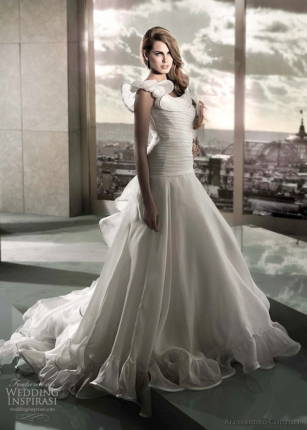 alessandro couture wedding gown 2012 - Basale bridal dress