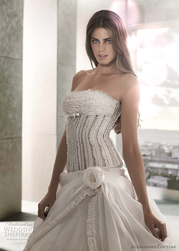 alessandro couture wedding gowns 2012 - AMBROSIA
