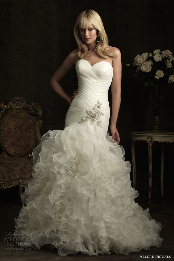 allure bridals 2012 wedding dresses