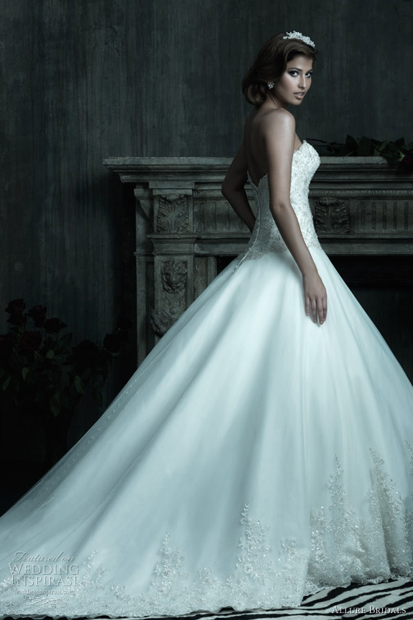 Allure Couture Spring 2012 Bridal Collection | Wedding Inspirasi