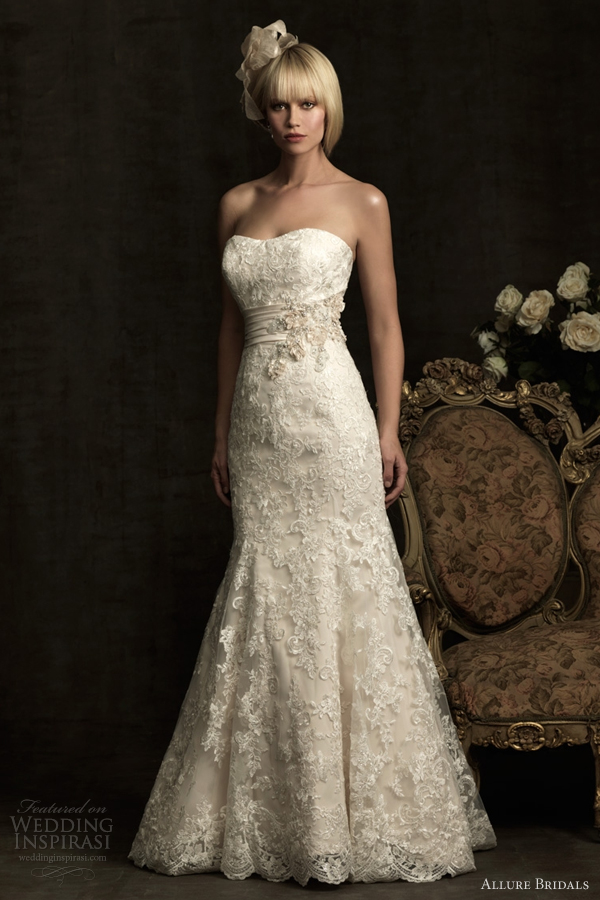 allure bridals spring 2012 wedding dresses