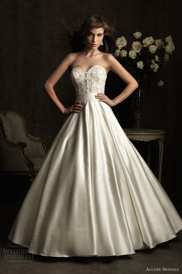 allure bridals spring 2012