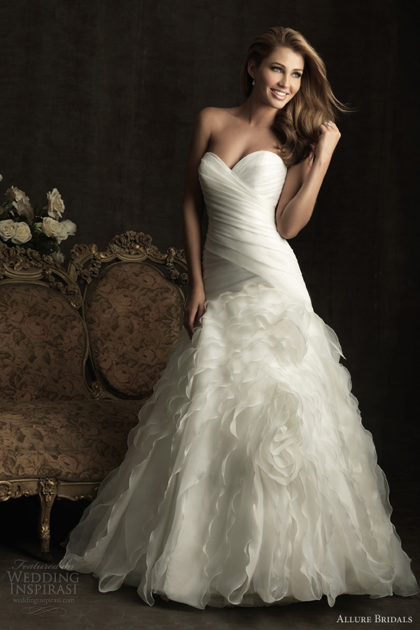 allure bridals wedding dress 2012
