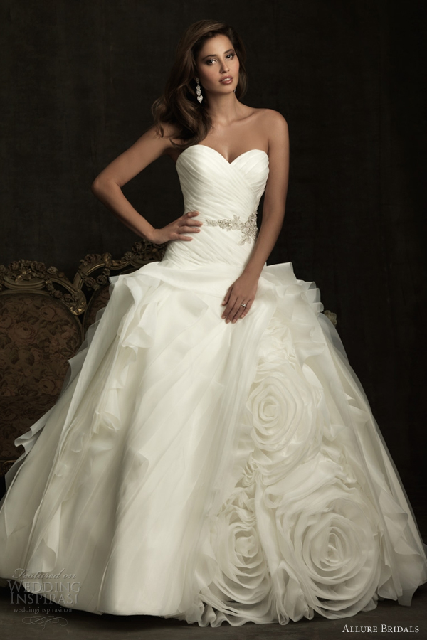 allure bridals wedding dress spring 2012