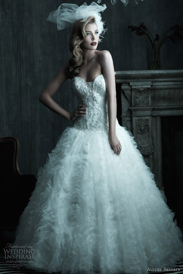 Allure Couture Spring 2012 Bridal Collection Wedding