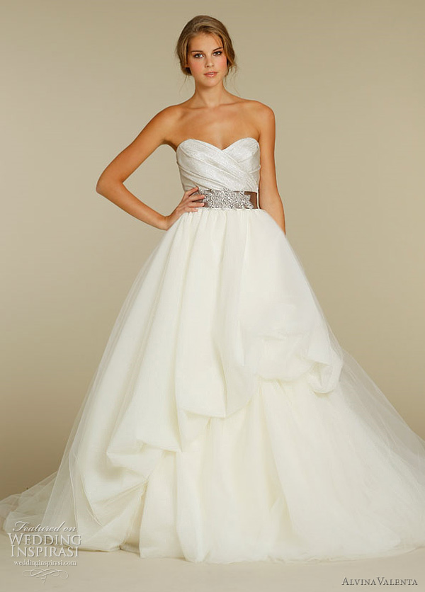 Alvina Valenta Wedding Dresses Spring 2012 | Wedding Inspirasi