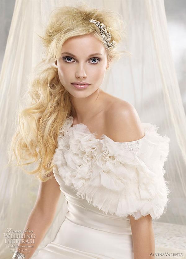 alvina valenta wedding dress 2012 -  style 9200