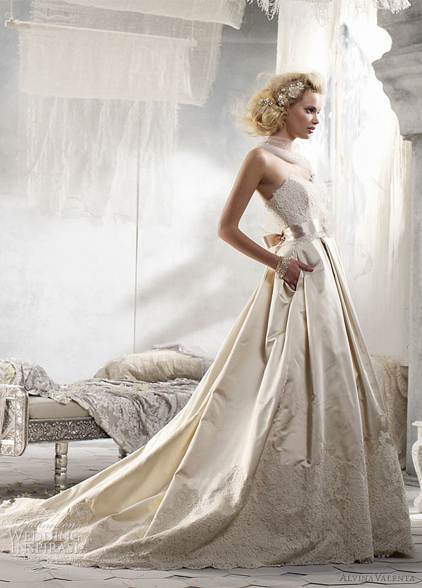 Alvina Valenta Wedding Dresses Spring 2012 Wedding Inspirasi