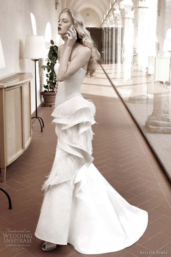 atelier aimee 2012 wedding dress red carpet collection