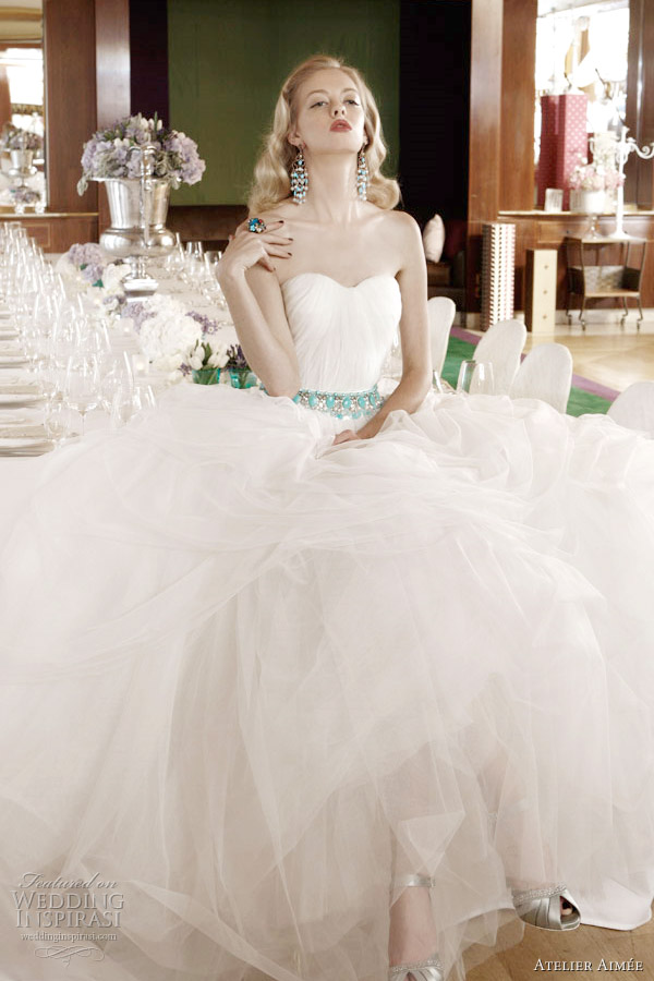 atelier aimee wedding dresses 2012